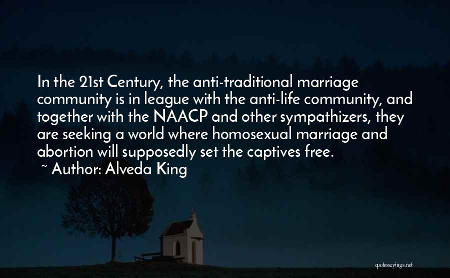 Non Traditional Marriage Quotes By Alveda King