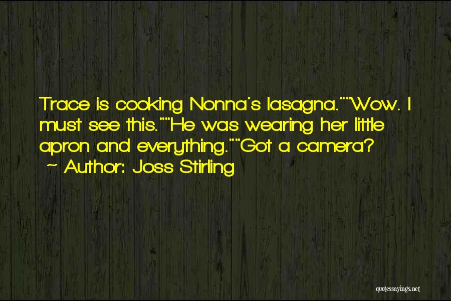 Nonna's Quotes By Joss Stirling
