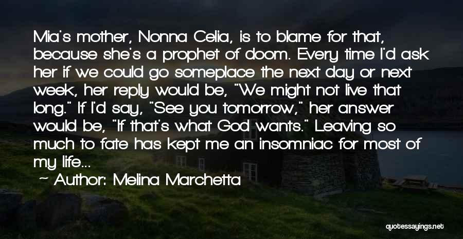 Nonna's Quotes By Melina Marchetta