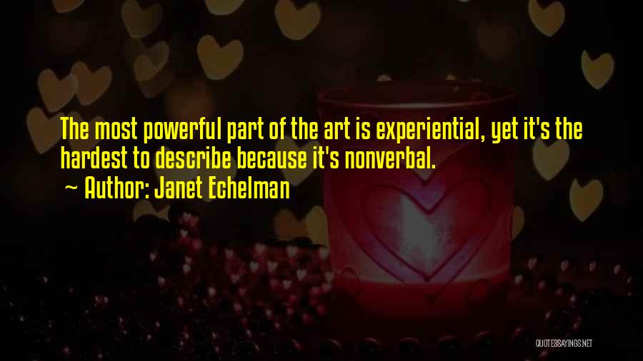 Nonverbal Quotes By Janet Echelman
