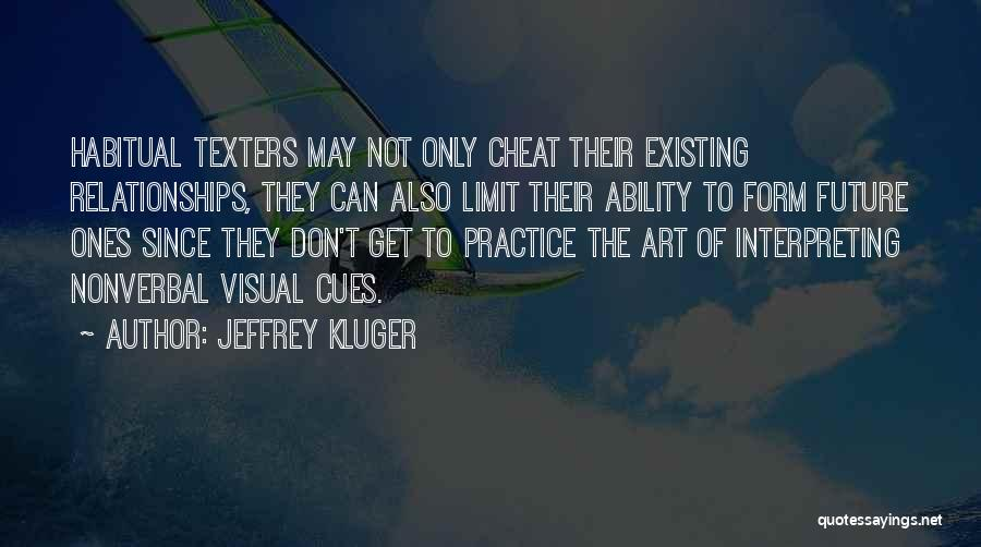 Nonverbal Quotes By Jeffrey Kluger