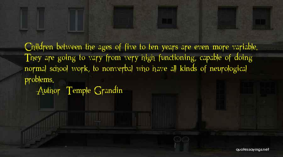 Nonverbal Quotes By Temple Grandin