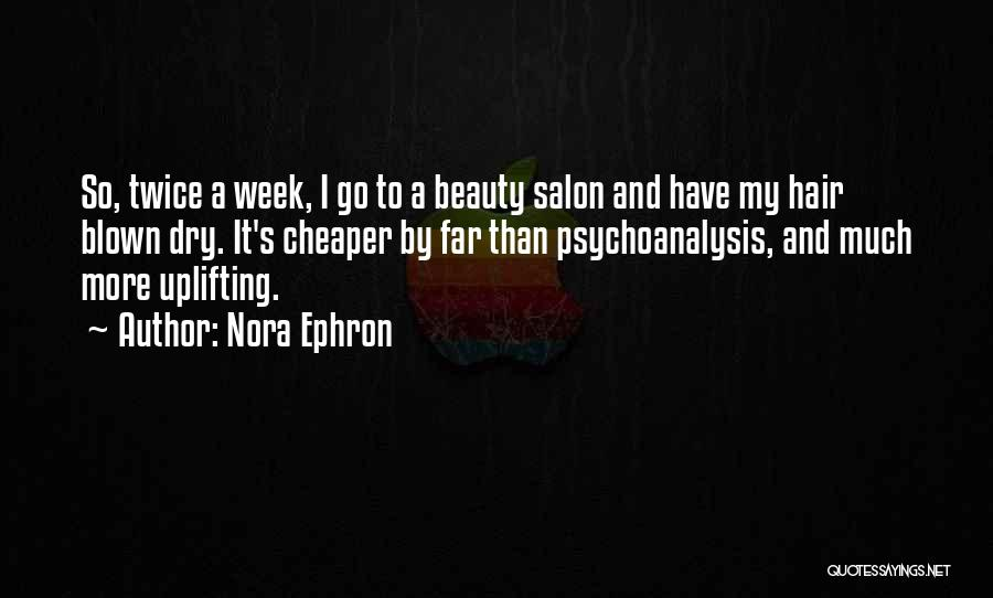 Top 1 Nora S Hair Salon Quotes Sayings