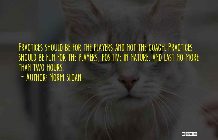Norm Sloan Quotes 1258876