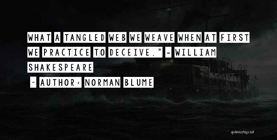 Norman Blume Quotes 2113859