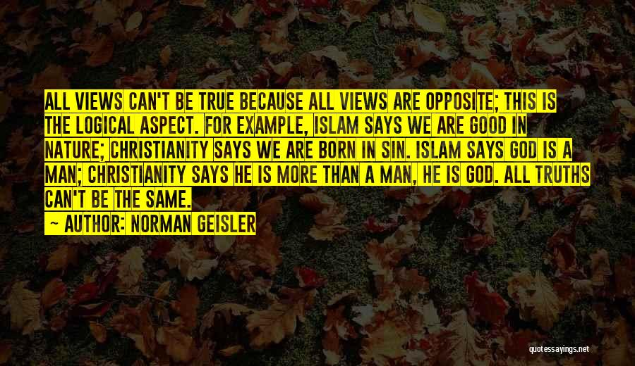 Norman Geisler Quotes 1045583