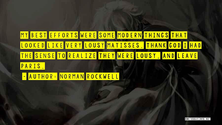 Norman Rockwell Quotes 637436