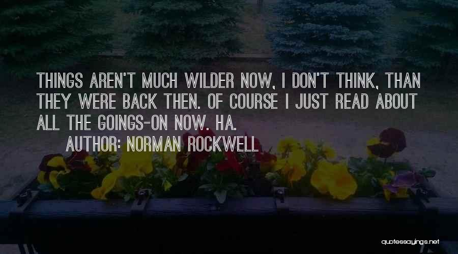 Norman Rockwell Quotes 887261