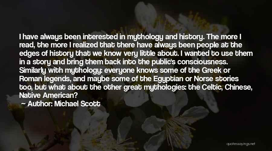 Norse Mythology Quotes By Michael Scott