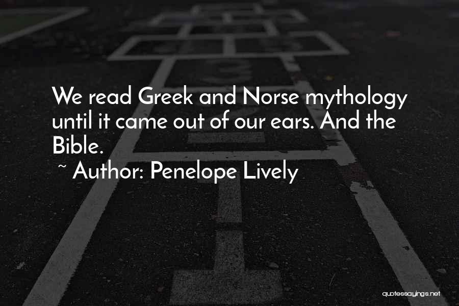 Norse Mythology Quotes By Penelope Lively