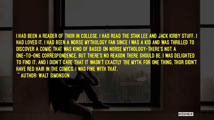 Norse Mythology Quotes By Walt Simonson