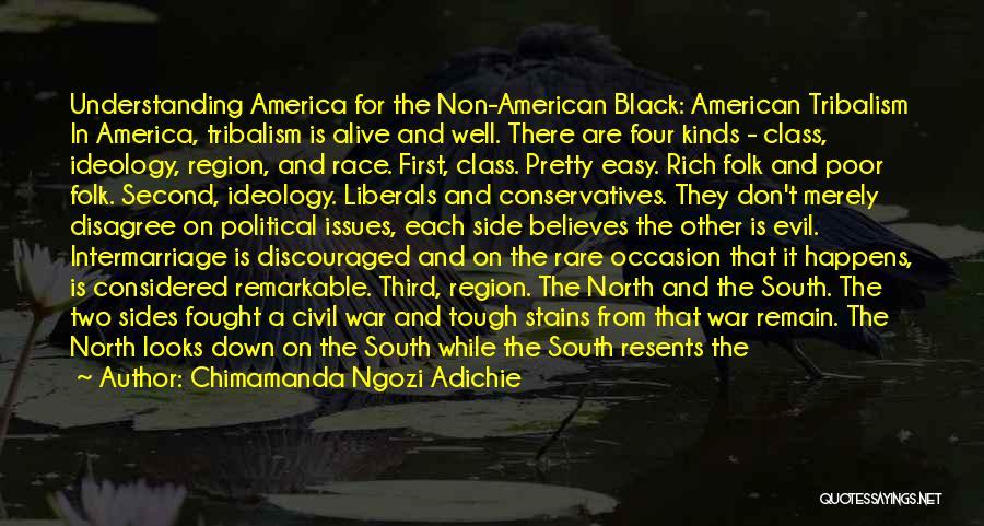 North And South Civil War Quotes By Chimamanda Ngozi Adichie