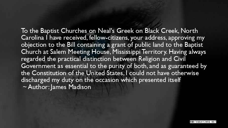 North Carolina Quotes By James Madison