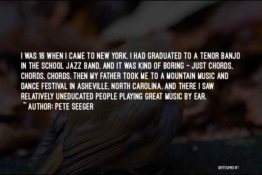North Carolina Quotes By Pete Seeger