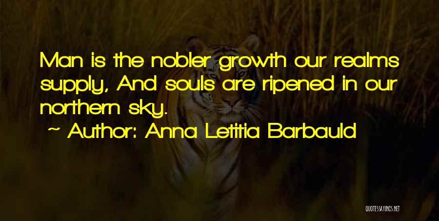 Northern Soul Quotes By Anna Letitia Barbauld