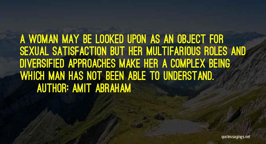 Not Able To Understand Quotes By Amit Abraham