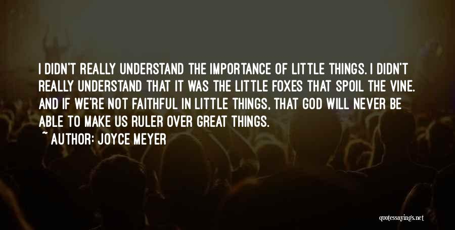 Not Able To Understand Quotes By Joyce Meyer