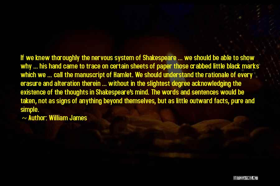 Not Able To Understand Quotes By William James