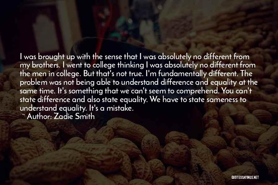 Not Able To Understand Quotes By Zadie Smith