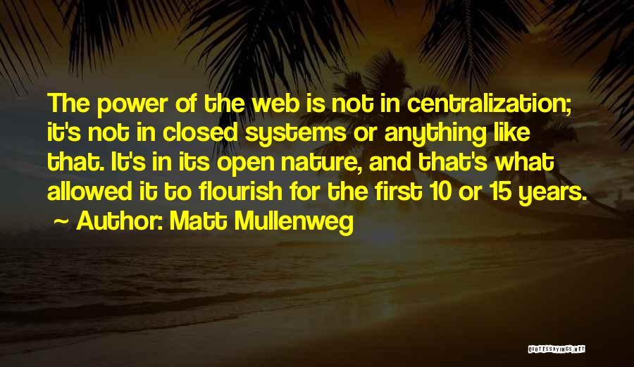 Not Allowed Quotes By Matt Mullenweg