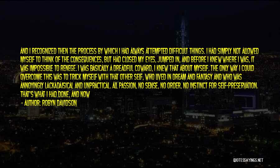 Not Allowed Quotes By Robyn Davidson