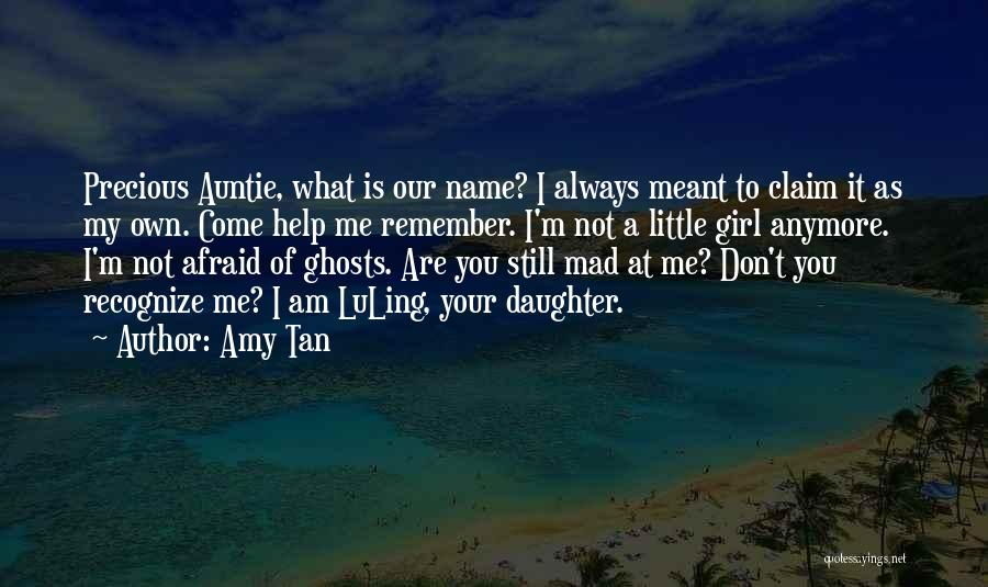Not Anymore Quotes By Amy Tan