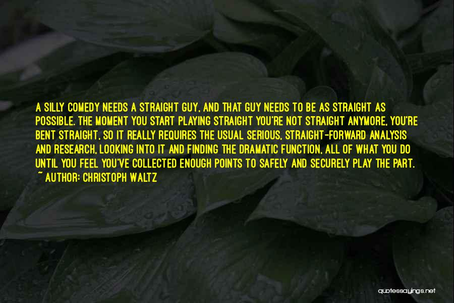 Not Anymore Quotes By Christoph Waltz