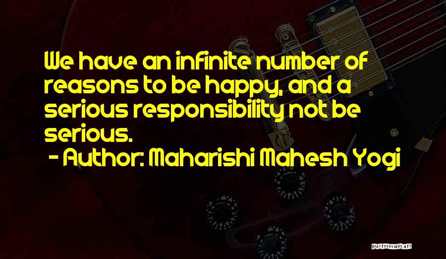 Not Be Happy Quotes By Maharishi Mahesh Yogi