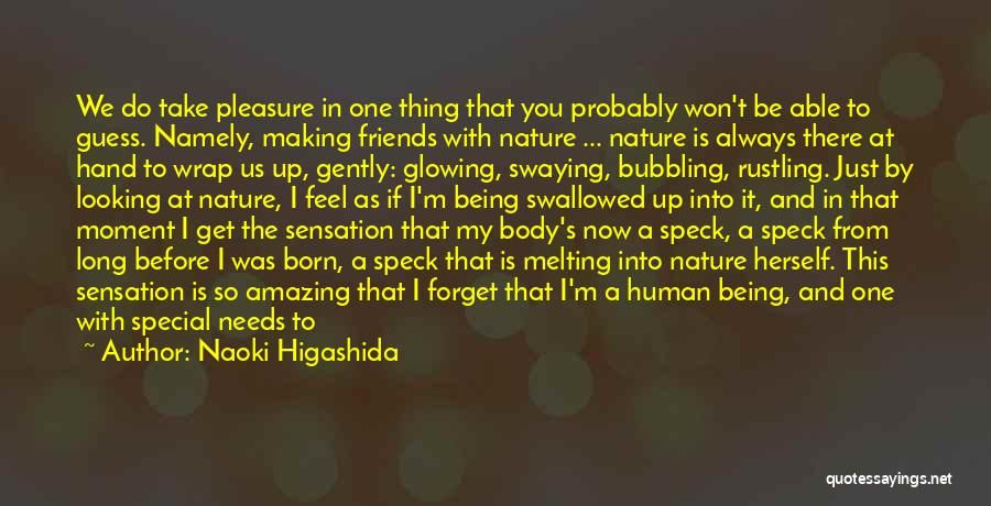 Not Be Happy Quotes By Naoki Higashida