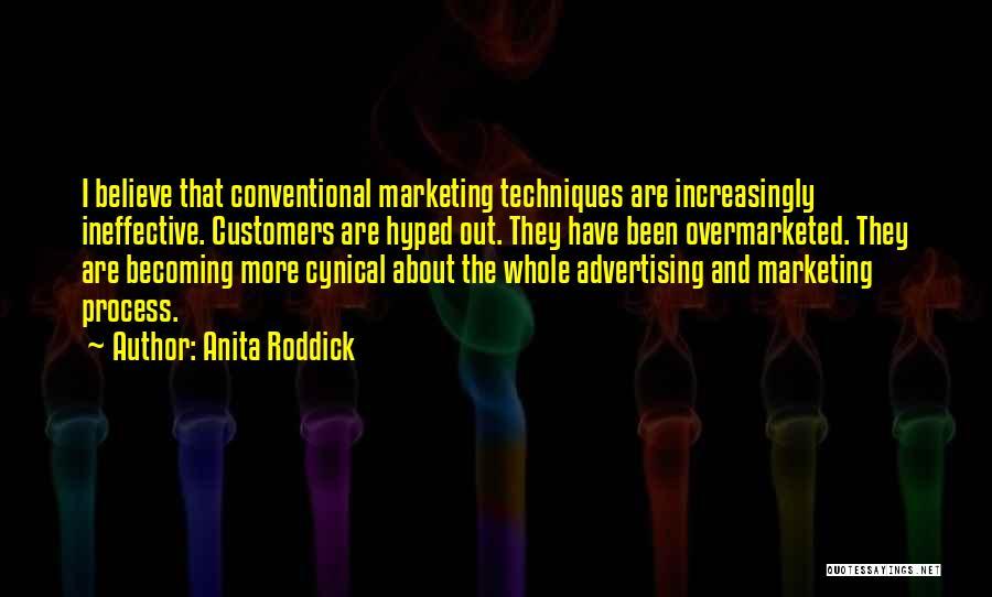Not Becoming Cynical Quotes By Anita Roddick