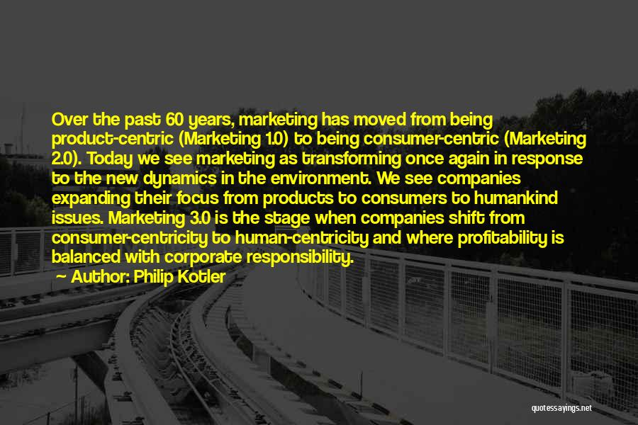 Not Being A Product Of Your Environment Quotes By Philip Kotler