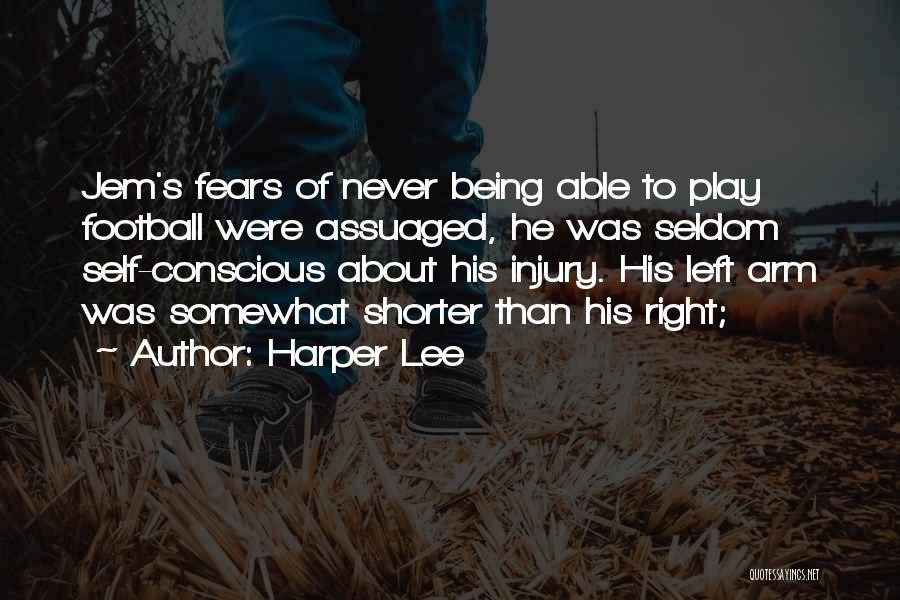 Not Being Able To Do What You Want Quotes By Harper Lee