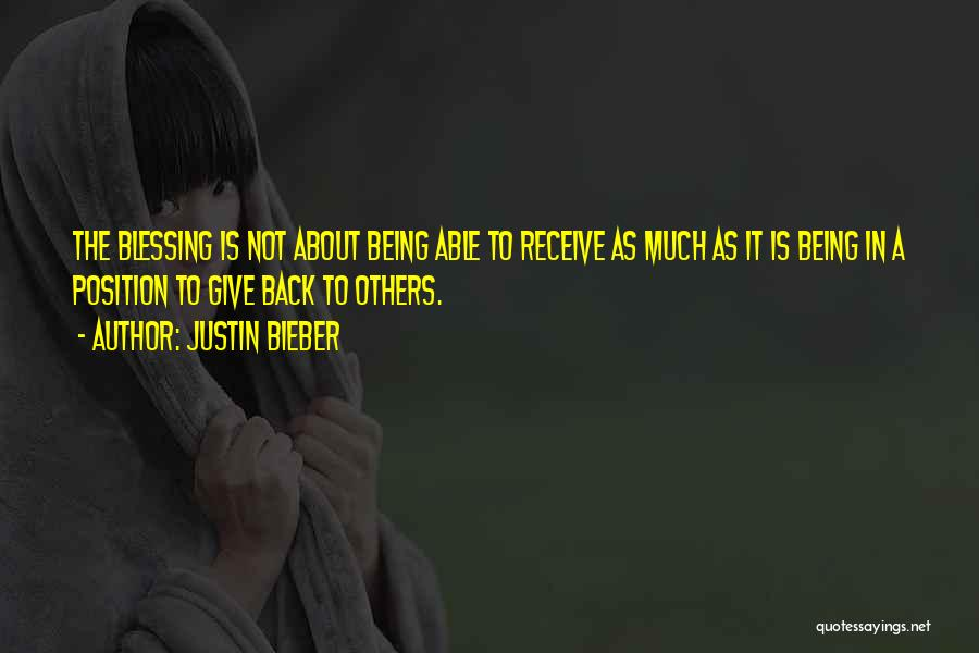 Not Being Able To Give Up On Someone Quotes By Justin Bieber