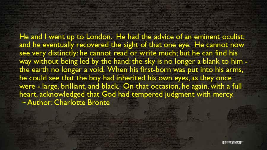 Not Being Acknowledged Quotes By Charlotte Bronte