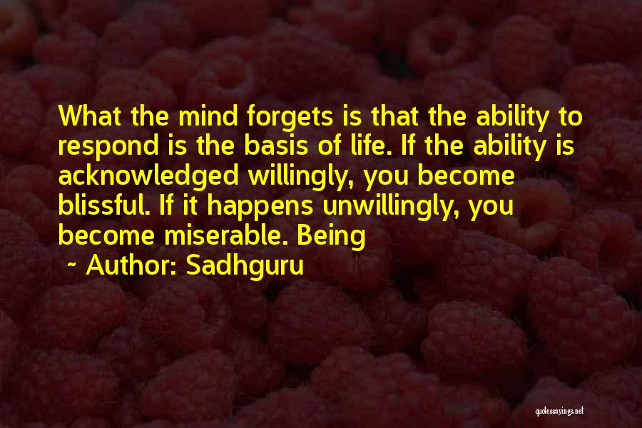 Not Being Acknowledged Quotes By Sadhguru
