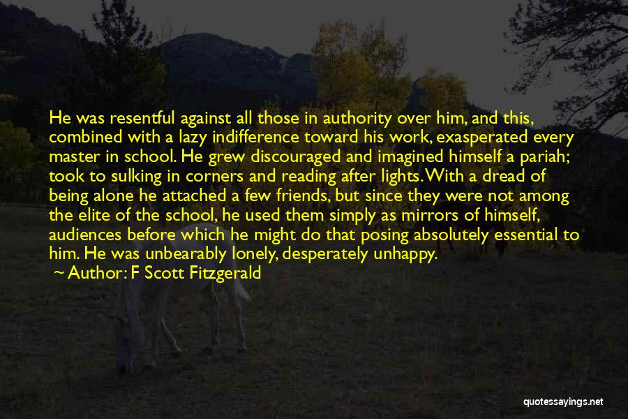 Not Being Attached To Someone Quotes By F Scott Fitzgerald