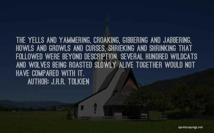 Not Being Compared Quotes By J.R.R. Tolkien