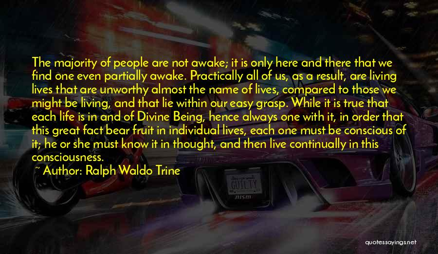 Not Being Compared Quotes By Ralph Waldo Trine