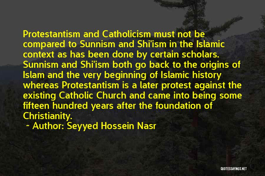 Not Being Compared Quotes By Seyyed Hossein Nasr