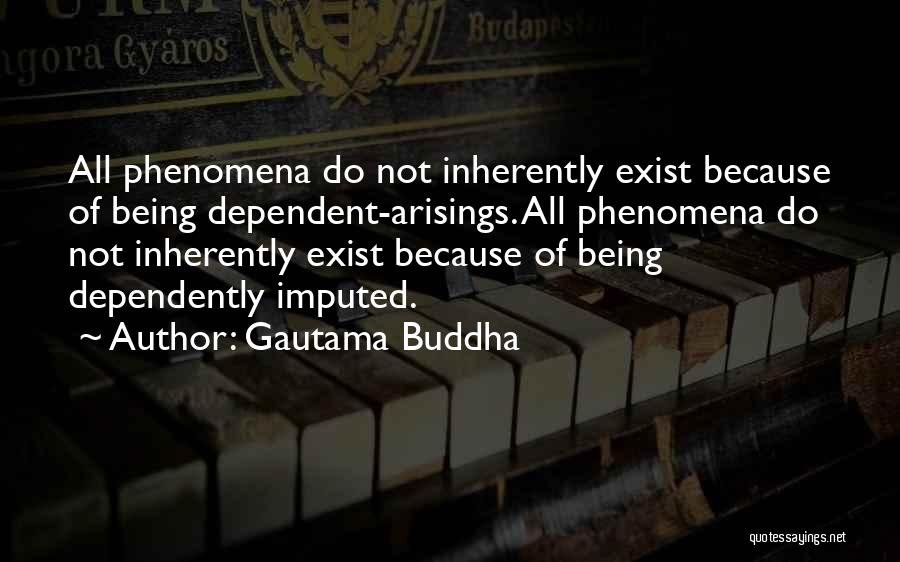 Not Being Dependent Quotes By Gautama Buddha