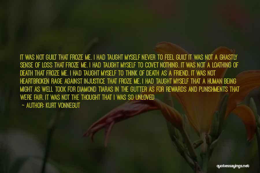 Not Being Myself Quotes By Kurt Vonnegut