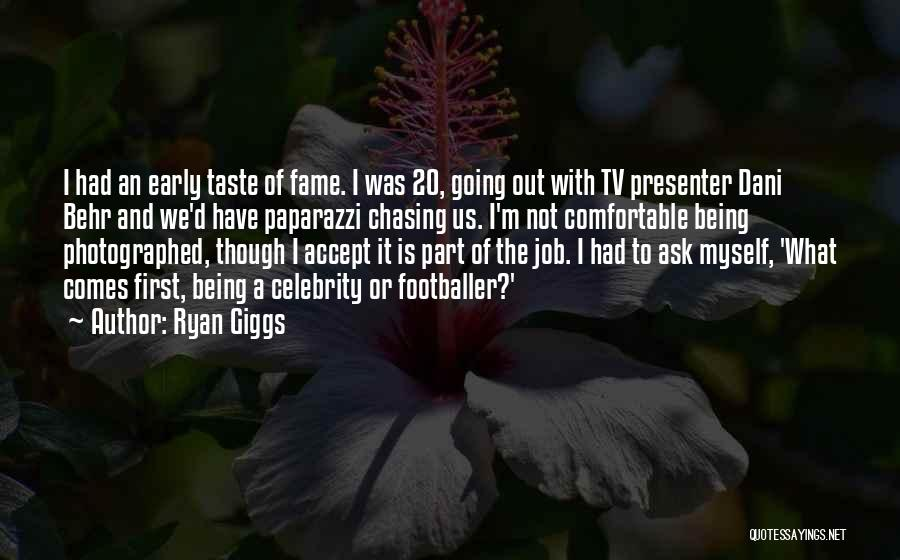 Not Being Myself Quotes By Ryan Giggs