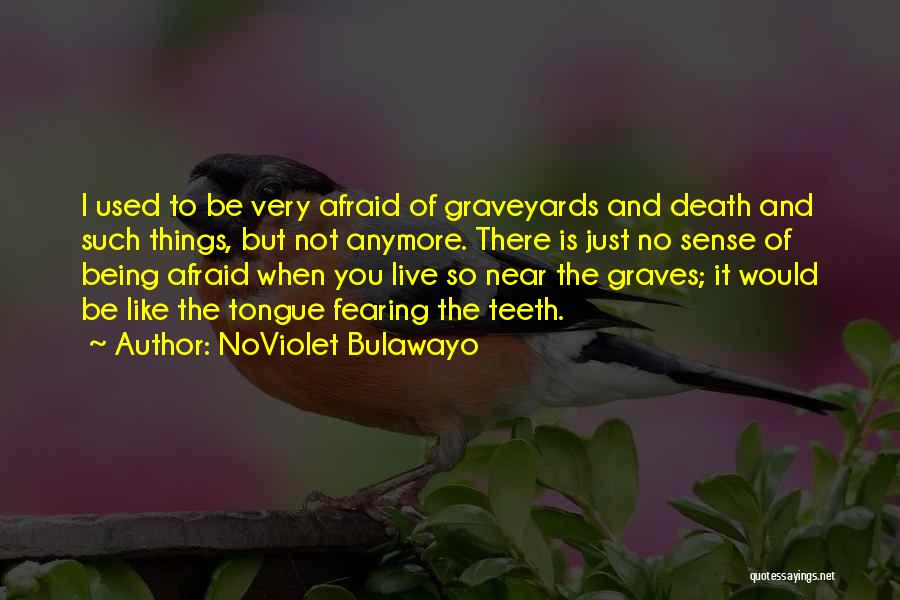 Not Being Used Anymore Quotes By NoViolet Bulawayo