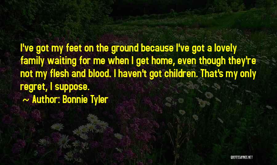 Top 100 Quotes & Sayings About Not Blood Family