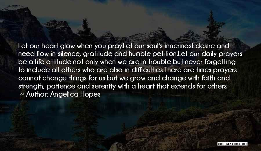 Not Caring Attitude Quotes By Angelica Hopes