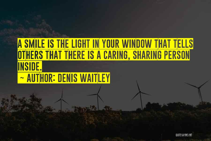 Not Caring Attitude Quotes By Denis Waitley