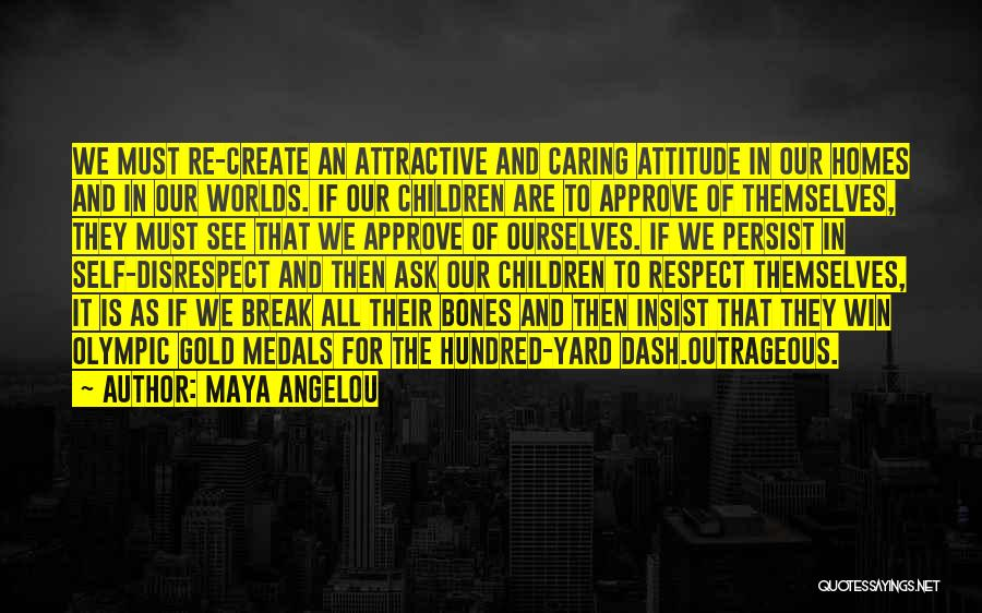 Not Caring Attitude Quotes By Maya Angelou