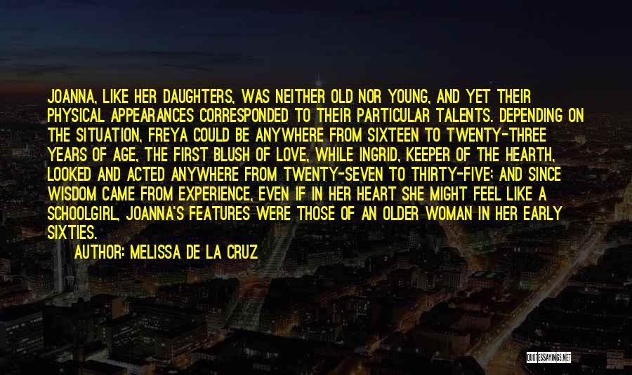 Not Corresponded Love Quotes By Melissa De La Cruz