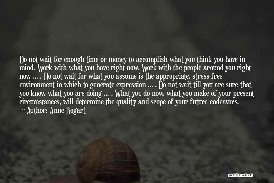 Not Doing Enough Quotes By Anne Bogart