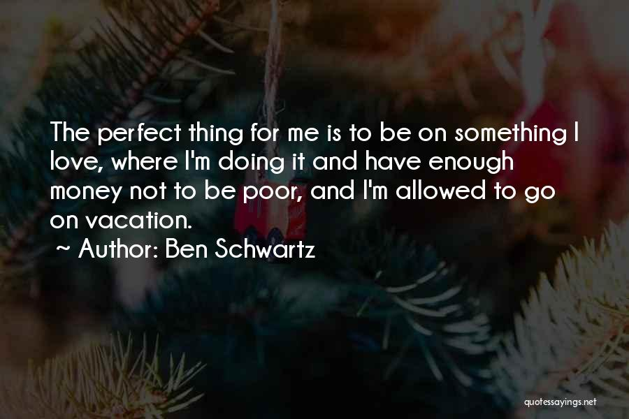 Not Doing Enough Quotes By Ben Schwartz